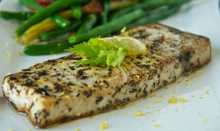 SCD Pan Roasted Swordfish Steaks http://healthyrecipesfitness.com ...