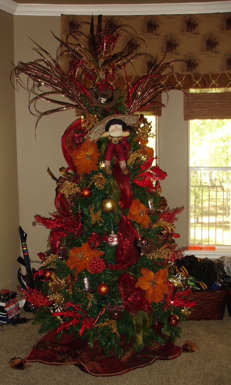 Cowboy Tree Picture Perfect Christmas Decorating Pinterest