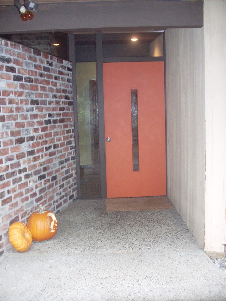 Lovely Pictures Of Mid Century Entry Door Best Home Design Ideas