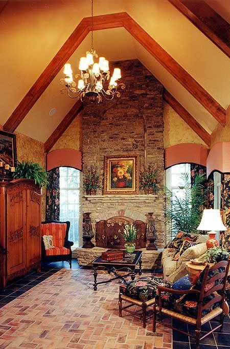 Luxurious European Home Plan
