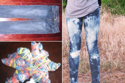 Как варить джинсы с краской