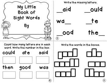 EDITION} JOURNEYS book with sight MY little {KINDERGARTEN  word WORD LITTLE BOOKS SIGHT