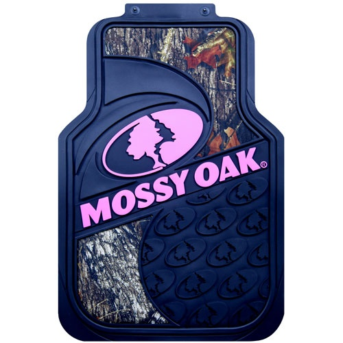 Mossy oak pink camo floor mats these are way cooler than the ones i