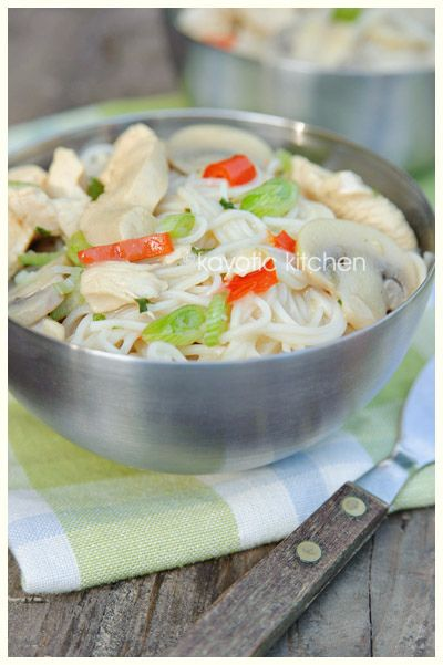Chicken, coconut & lime noodles | Food glorious food | Pinterest