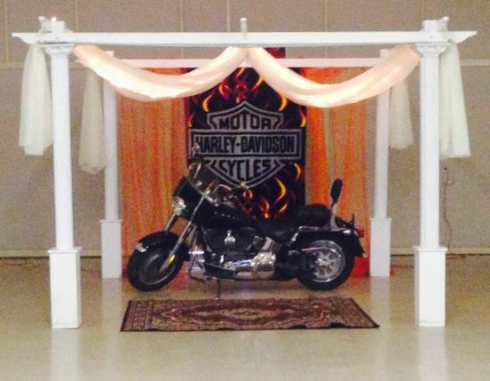 Harley Davidson Wedding Theme