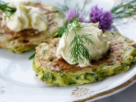 Zucchini and Dill Pancakes These are delicious! However, I might add a ...