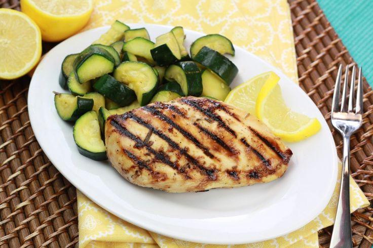 Honey Lemon & Rosemary Chicken- used boneless skinless chicken thighs ...
