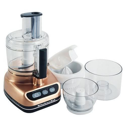 Copper Kitchenaid Food Processor For The Home Pinterest