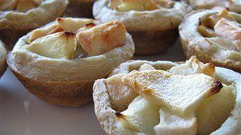 Apple, Walnut and Gorgonzola Tart | Share-Worthy Recipes | Pinterest
