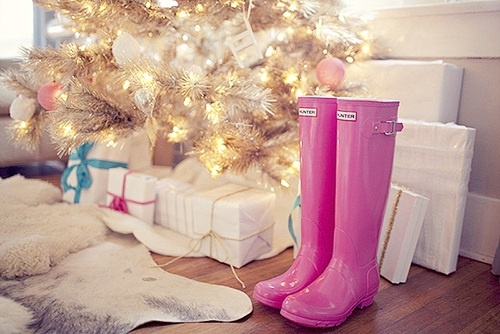 All I want for Christmas is something pink!