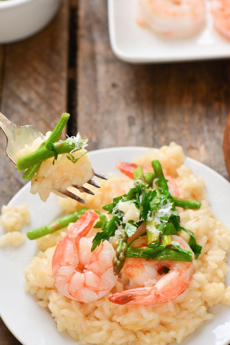 Shrimp and Asparagus Risotto | Recipe