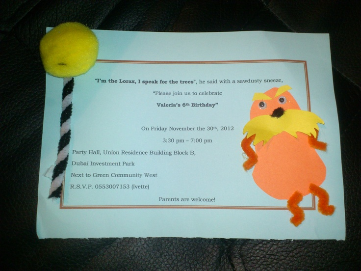 Dr Seuss Party Invitations as adorable invitations template