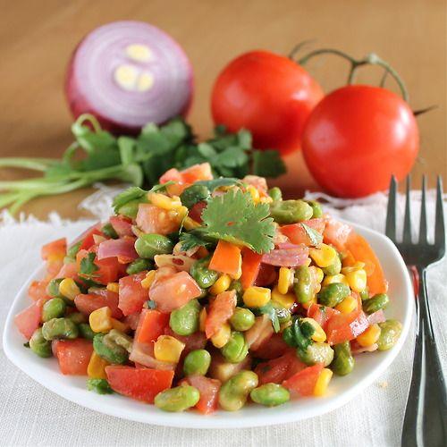 edamame salad | FOODOLOGY | Pinterest