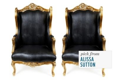gorgeous chairs!