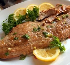 """Honey Ginger Grilled Salmon: """"Mmmmm...this was delicious! The honey ..."""
