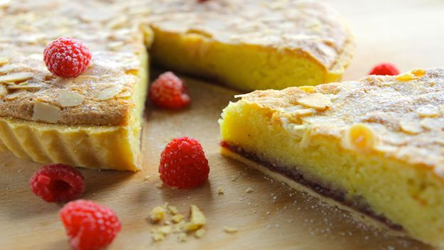 Bakewell tart Simon Rimmer's classic pastry tart is filled jam and a ...