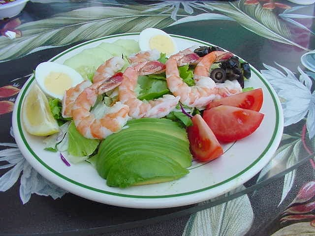 Fresh Shrimp Salad | OF THE SEA FOOD | Pinterest