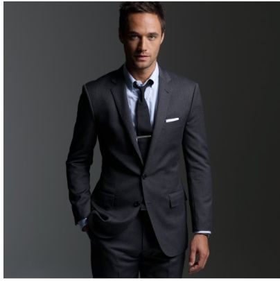 loving charcoal suits | Clothes | Pinterest