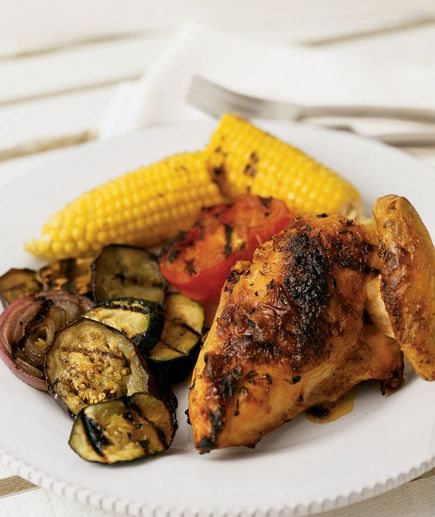 ... summertime spin with these deliciously simple grilled chicken recipes