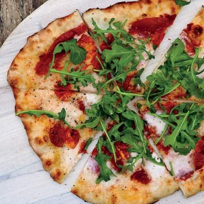 Sun-Dried Tomato and Arugula Pizza | Recipe