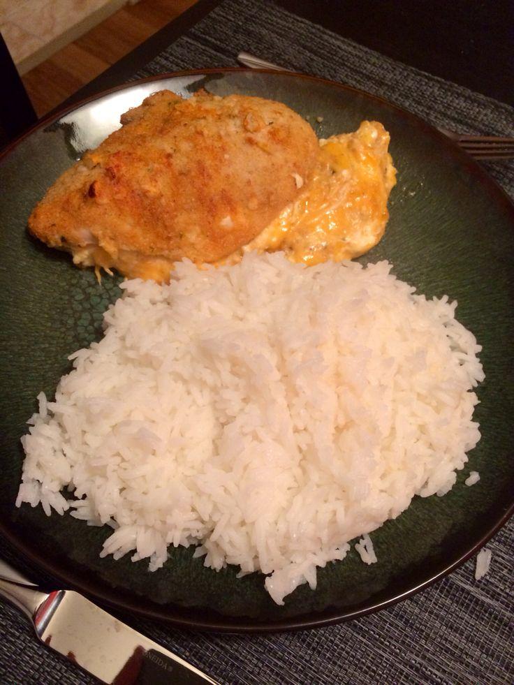 Garlic-Lemon Double Stuffed Chicken:: It is too good