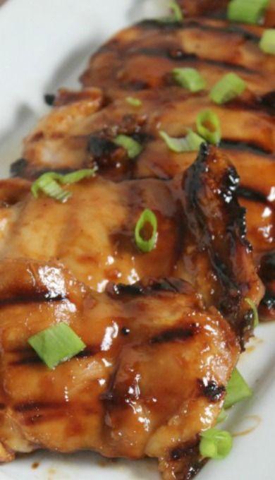 Huli Huli Chicken (ginger, soy, brown sugar marinade)