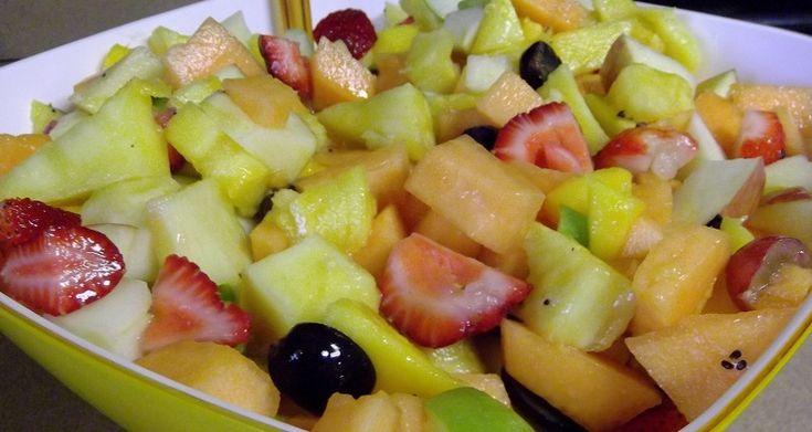 Fruit salad yummy youtube - 387