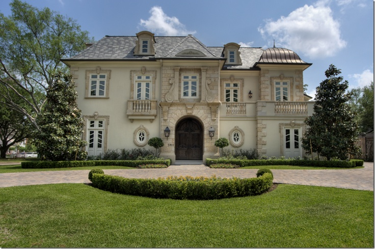 French chateau houston texas homes european old for French chateau style