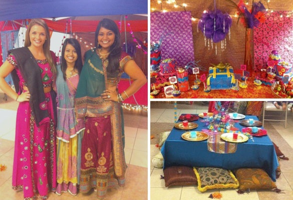 Table decor arabian nights party theme pinterest for Arabian nights decoration