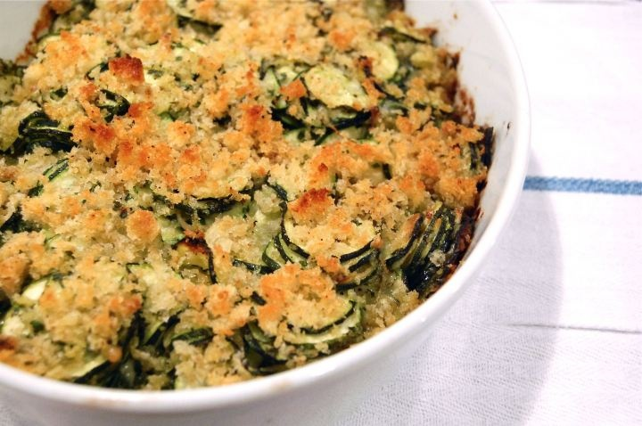 Zucchini Gratin | Recipes-Sides | Pinterest
