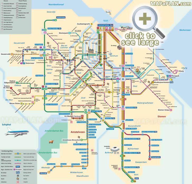 Best 25+ Amsterdam tourist map ideas on Pinterest | Berlin travel ...