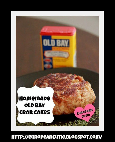 Homemade Old Bay Crab Cakes ♥ | Under the Sea | Pinterest