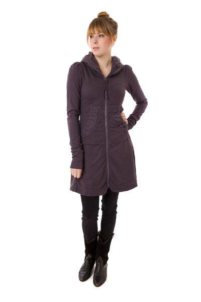 Long Cloak Hoodie, Prairie Underground, $264 via boutiika.com