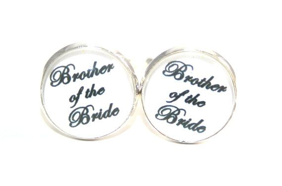 - Wedding Party Gift Cufflinks - Wedding Day Gift for Brother ...
