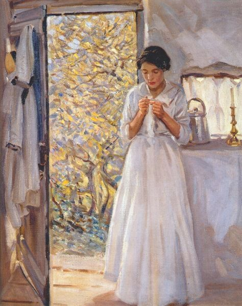 Helen McNicoll (1879-1915)  The Open Door