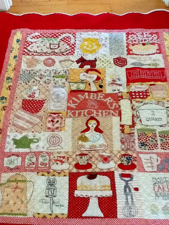 Pin by becky mcdaniel on quilts pinterest for Kitchen quilting ideas