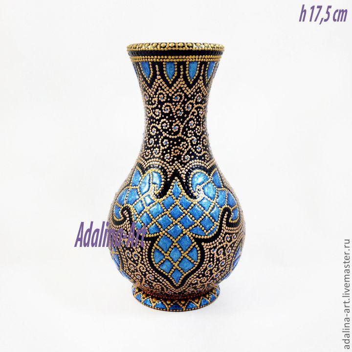 Орнамент на вазе своими руками 54