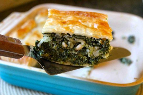 Deep Dish Spinach Pie | Mmm mmm|Veggies/Sides | Pinterest