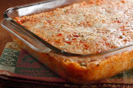 Sicilian Rice Ball Casserole | Skinnytaste