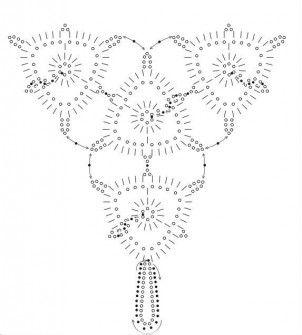 Grille bijou p fuchsia katia mes preferes pinterest - Bijoux au crochet modele gratuit ...