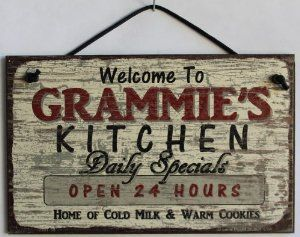 Kitchen daily specials open 24 hours home of cold milk warm cookies