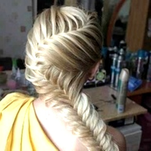 zig zag fishtail braid myFav HAIRSTYLES Pinterest