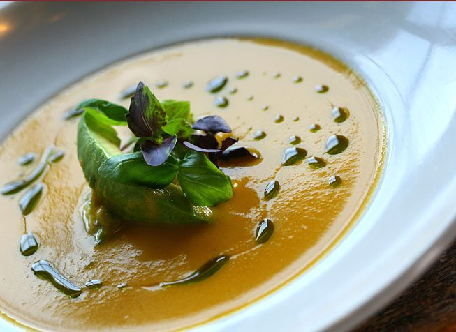 Heirloom tomato gazpacho | Eat | Pinterest