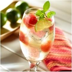 Watermelon-Cucumber Refresher 3 Servings 1/2 oz vodka 1/2 cup grated ...
