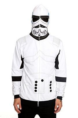 Star Wars Stormtrooper Hoodie WANT!!!!! | random | Pinterest