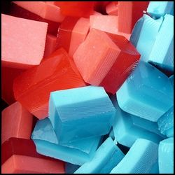 Get creative with Jello Jigglers and Mega Blocks!