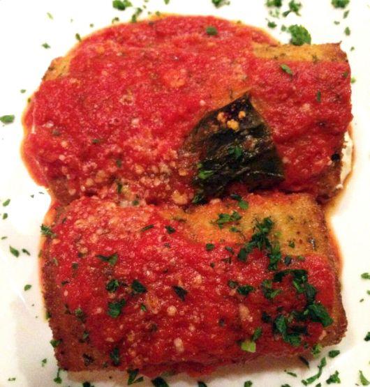 Eggplant Rollatini | Dan's Recipes | Pinterest