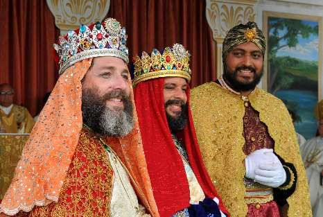 Los Tres Reyes Magos de Juana Diaz. Three Wise Men, Juana Diaz, Puerto Rico