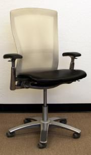 New and used knoll quot life quot task chair leather mesh