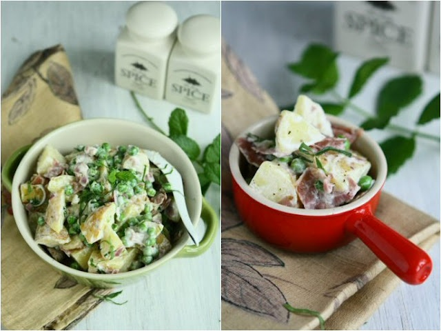 Potato Salad with Peas and Mint | Angie's Recipes | Pinterest